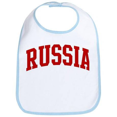 RUSSIA (red) Bib