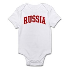 RUSSIA (red) Infant Bodysuit