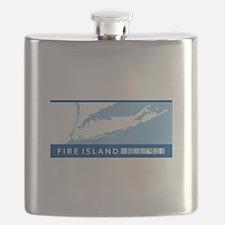 Fire Island - Long Island. Flask