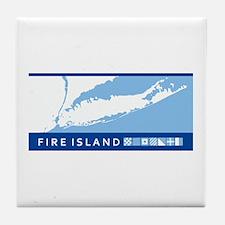 Fire Island - Long Island. Tile Coaster