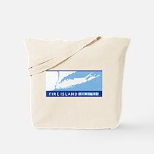 Fire Island - Long Island. Tote Bag