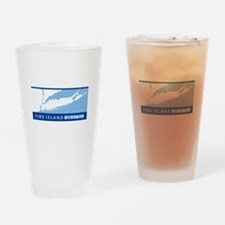 Fire Island - Long Island. Drinking Glass