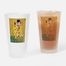 Klimt The Kiss Lovers Drinking Glass