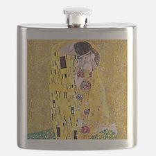 Klimt The Kiss Lovers Flask