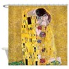 Klimt The Kiss Lovers Shower Curtain