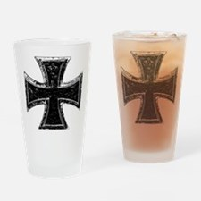Iron Cross Drinking Glass