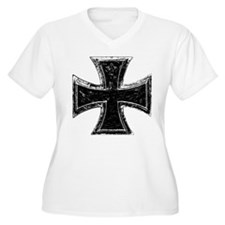 Iron Cross Plus Size T-Shirt