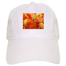 Bright fall leaves Baseball Cap