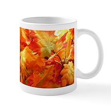Bright fall leaves Mugs