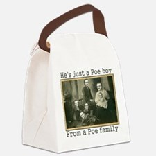 Cute Alan Canvas Lunch Bag