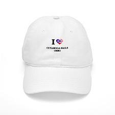 I love Cuyahoga Falls Ohio Baseball Cap