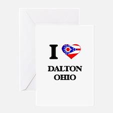 I love Dalton Ohio Greeting Cards