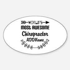 Personalized Worlds Most Awesome Ch Decal