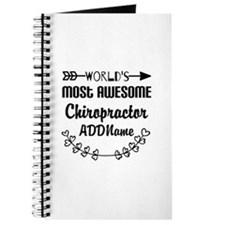 Personalized Worlds Most Awesome Chiroprac Journal