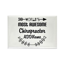 Personalized Worlds Most Awesome Rectangle Magnet