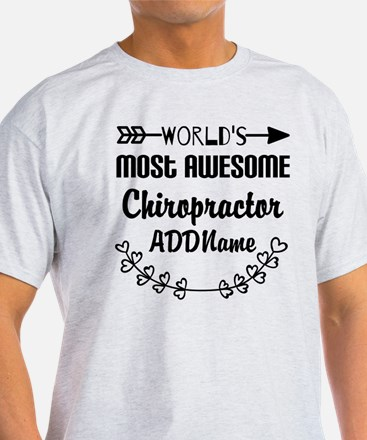 Personalized Worlds Most Awesome Chi T-Shirt