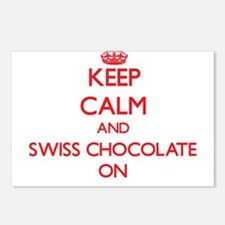 Keep Calm and Swiss Choco Postcards (Package of 8)