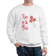 Bouquet Bride's Niece Sweatshirt