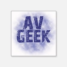 Av Geek Sticker