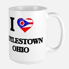 I love Doylestown Ohio Mugs