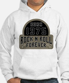 Birthday Born 1975 Rock And Roll Hoodie