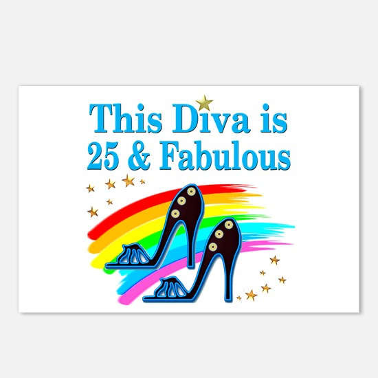 25TH PRIMA DONNA Postcards (Package of 8)
