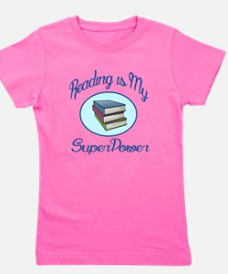 Reading is my Super Power Girl's Tee