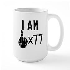 I Am Middle Finger Times 77 Mugs