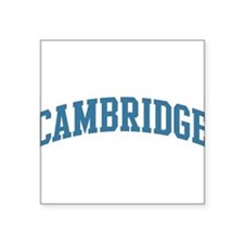 """Cute Cambridge Square Sticker 3"""" x 3"""""""