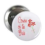 Bouquet Bride's Cousin Button