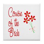 Bouquet Bride's Cousin Tile Coaster