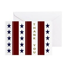 A Thank You For Your Military Greeting Cards