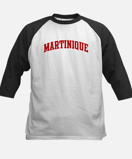 MARTINIQUE (red) Kids Baseball Jersey
