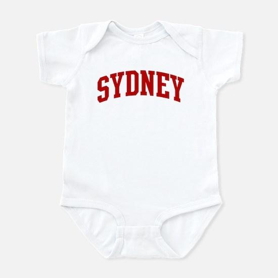 SYDNEY (red) Infant Bodysuit