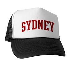 SYDNEY (red) Trucker Hat
