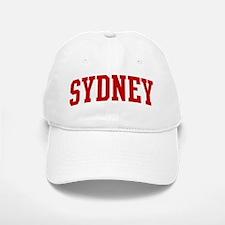 SYDNEY (red) Baseball Baseball Cap