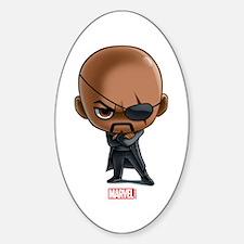 Nick Fury Stylized Decal