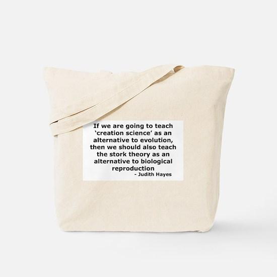 The Stork Tote Bag