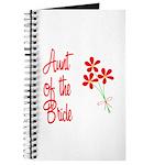 Bouquet Bride's Aunt Journal