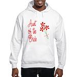 Bouquet Bride's Aunt Hooded Sweatshirt