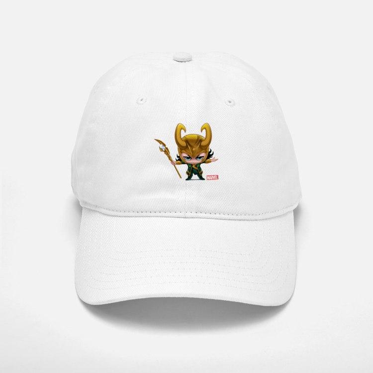 Loki Stylized Baseball Baseball Cap