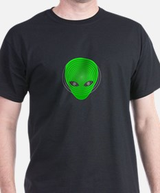 Funny Alien head T-Shirt