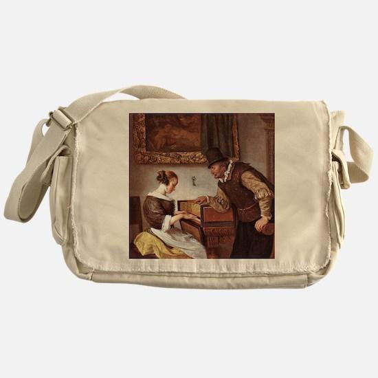 The Harpsichord Lesson Messenger Bag
