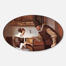 The Harpsichord Lesson Decal