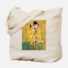 Klimt The Kiss Lovers Tote Bag