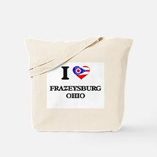 I love Frazeysburg Ohio Tote Bag