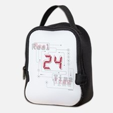 24 Real Time Neoprene Lunch Bag
