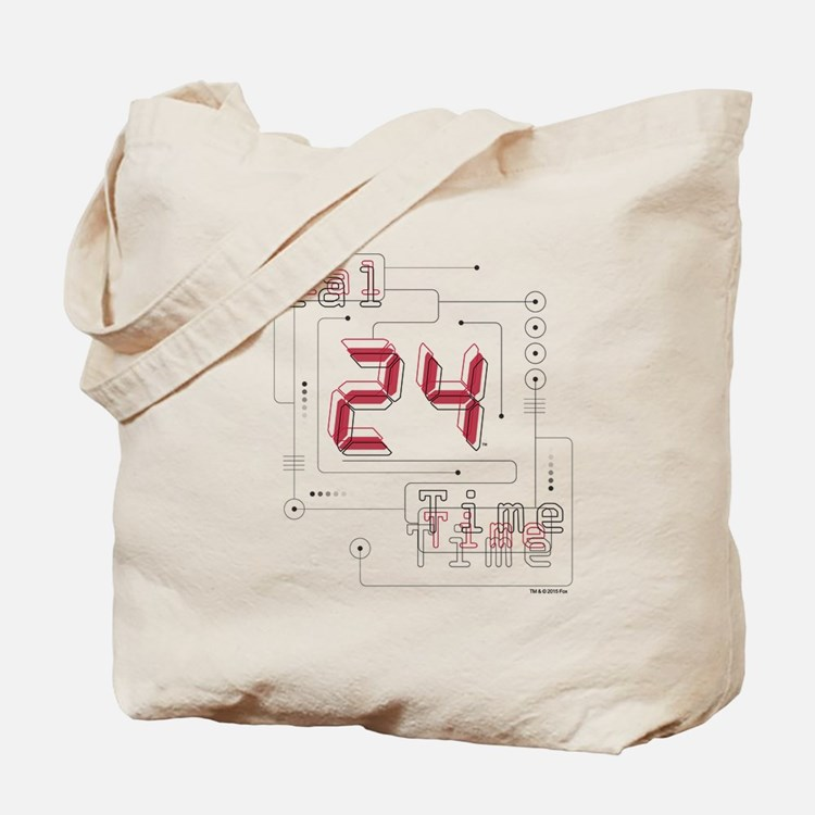 24 Real Time Tote Bag