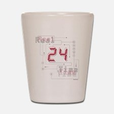 24 Real Time Shot Glass