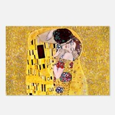 Klimt The Kiss Lovers Postcards (Package of 8)